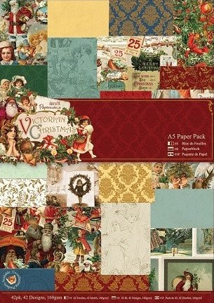 DoCrafts - Paper Pack - Victorian Christmas
