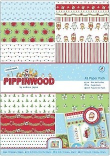 DoCrafts - Paper Pack - Pippinwood  Christmas
