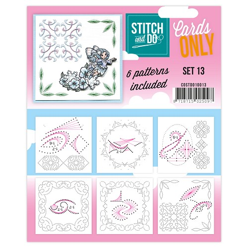 Card Deco - Stitch & Do - Cards only - Set 13