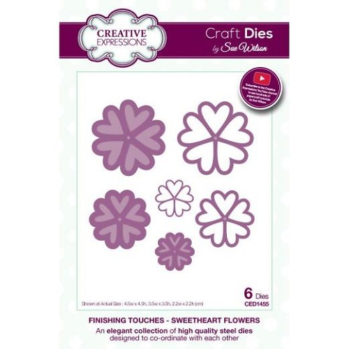 Creative Expressions - Craft Dies - Finishing Touches - Lace edged leaves