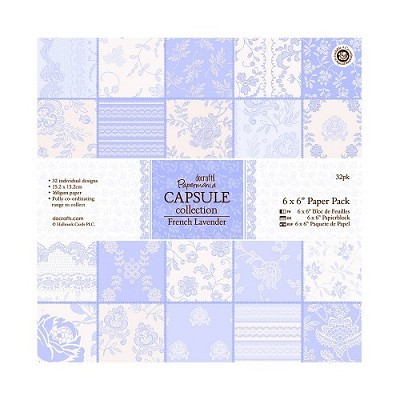 DoCrafts - Paper Pack - Capsule collection - French Lavender