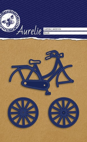 Aurelie - Snij-& embossingsmal - Bicycle / fiets