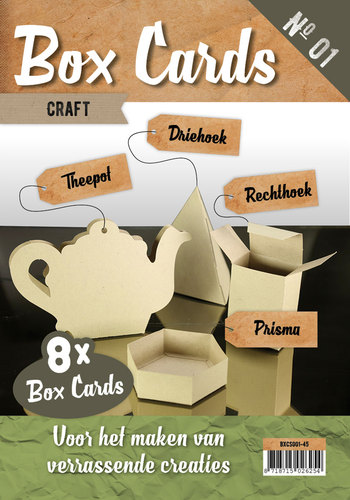 Box Cards 1 - Craft
