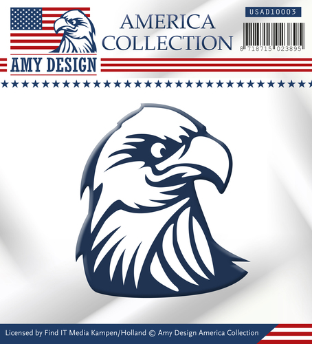 Amy Design - Die - America Collection - Eagle