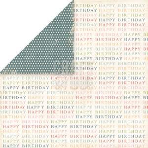 Craft & You Design - Scrapbook paper - Birthday Party 02