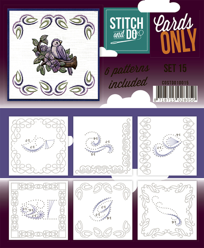 Card Deco - Stitch & Do - Cards only - Set 15