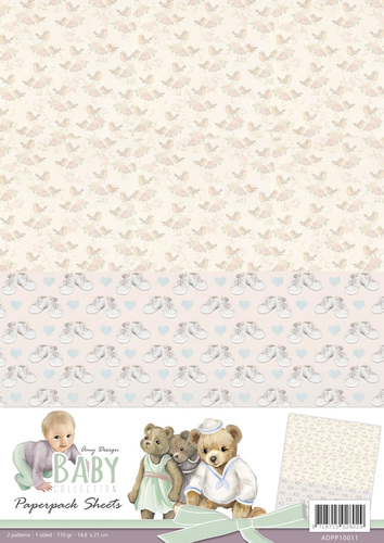Amy Design - Backgroundsheets - Baby Collection - 1