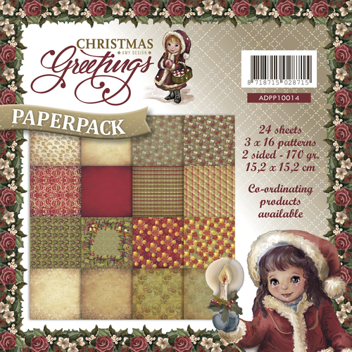 Amy Design - Paperpack - Christmas Greetings