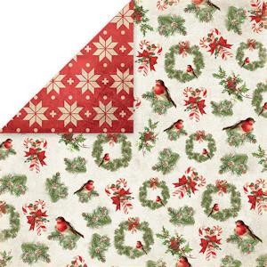 Craft & You Design - Scrapbook paper North Pole 06