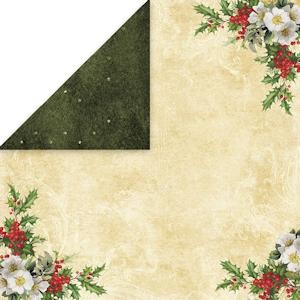 Craft & You Design - Scrapbook paper White Christmas 04