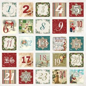 Craft & You Design - Scrapbook elements White Christmas 07