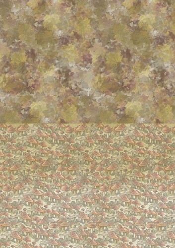 Amy Design - Backgroundsheets - Autumn Moments - Mushrooms