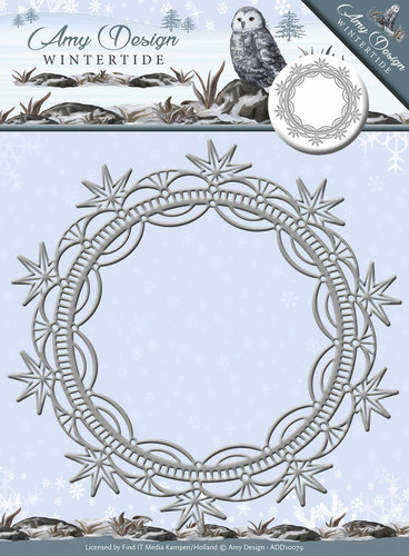 Amy Design - Die - Wintertide - Ice Crystal Frame