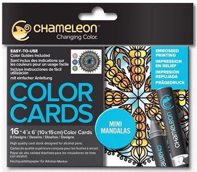Chameleon - Color Card - Mini mandala`s