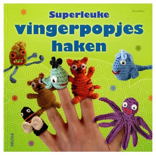 Haakboeken Vinger Poppetjes Haken Joans Hobbywereld