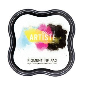 DoCrafts - Pigment ink pads - White
