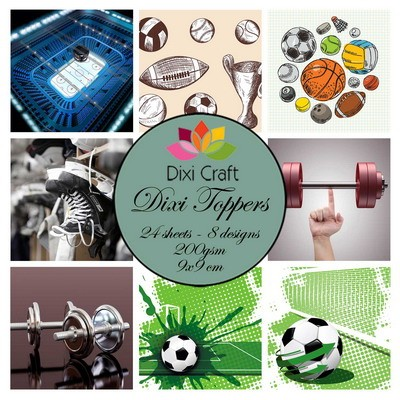Dixi Craft - Toppers - Sports 1