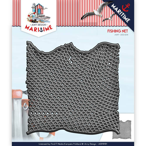 Amy Design - Die - Maritime - Fishing Net