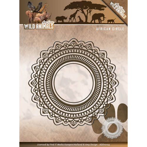 Amy Design - Die - Wild Animals - African Circle