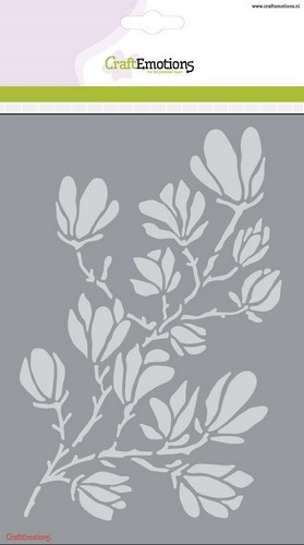 CraftEmotions - Mask stencil - magnolia A5 spring Time