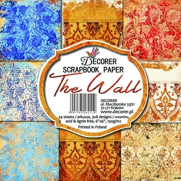 Decorer - Scrapbook Paper (15 x 15cm) - The Wall