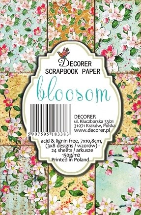 Decorer - Scrapbook Paper Mini - Bloosom