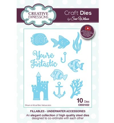 Creative Expressions - Craft Dies - Fillables - Underwater Accessories