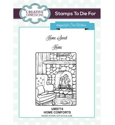 Creative Expressions - Stamps To Die For - Home Comforts