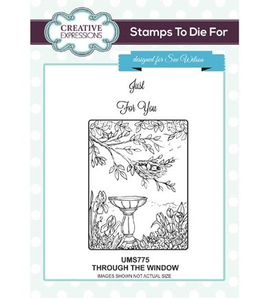Creative Expressions - Stamps To Die For - Through The Window