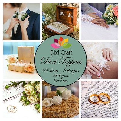 Dixi Craft - Toppers - Wedding