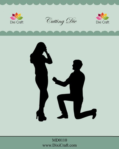 Dixi Craft - Die - Wedding Proposal