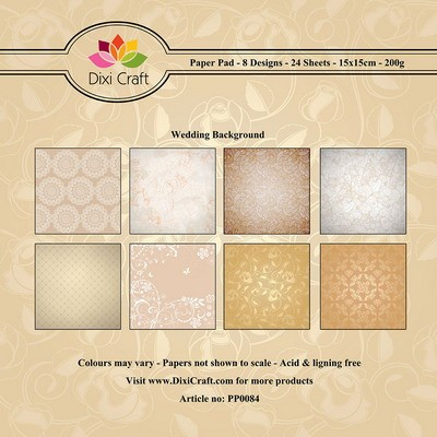 Dixi Craft - Paperpack - Wedding Background