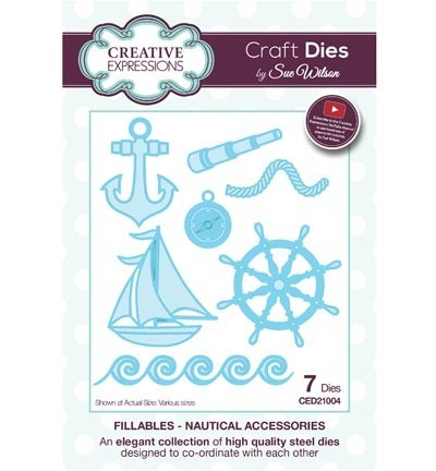 Creative Expressions - Craft dies fillables - Nautical accessoires