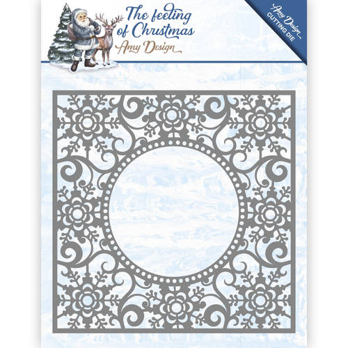 Amy Design - Die - The Feeling of Christmas - Ice crystal frame