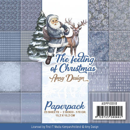 Amy Design - Paperpack - The feeling of Christmas