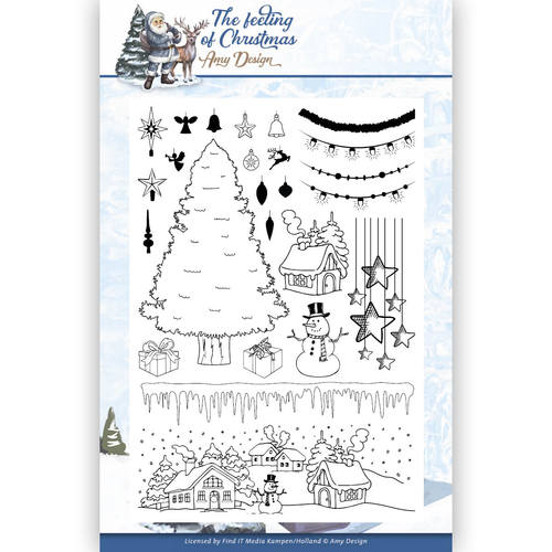 Amy Design - Clear Stamp - The Feeling of Christmas