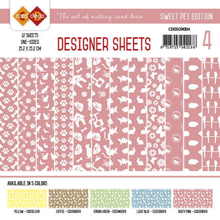 Amy Design - Designer Sheets - Sweet Pet-Oudroze