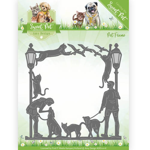 Amy Design - Die - Pet - Sweet  Pet Frame