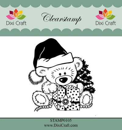 Dixi Craft - Clearstamp - Teddy bear