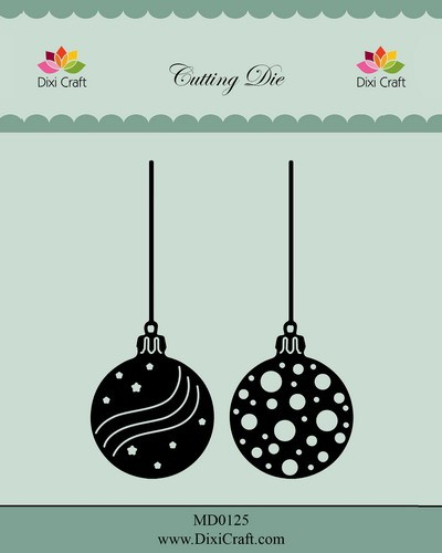 Dixi Craft - Die - Christmas baubles