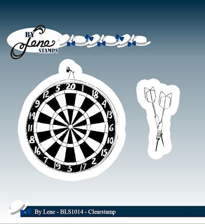 By Lene - Clearstamp - Dartboard & Arrows