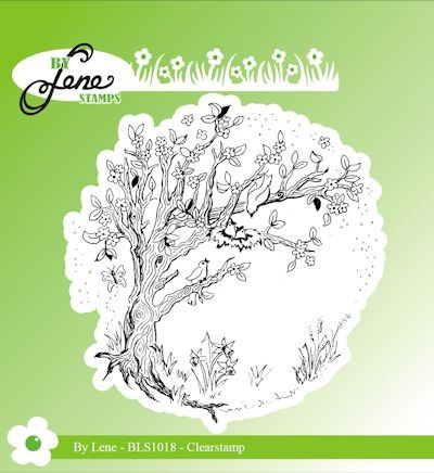 By Lene - Clearstamp - Spring Tree
