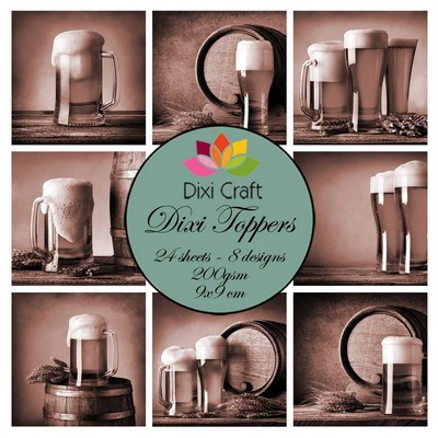 Dixi Craft - Toppers - Beer - Sepia