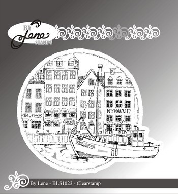 By Lene - Clearstamp - Nyhavn
