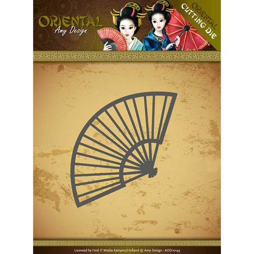 Amy Design - Die - Oriental - Chinese Fan