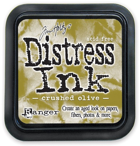 Distress Ink - Crushed Olive