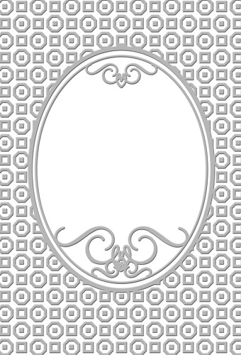 Couture Creations - Embossing folder - Bradshaw