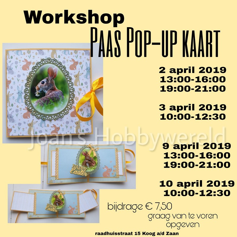 Paas Pop-Up