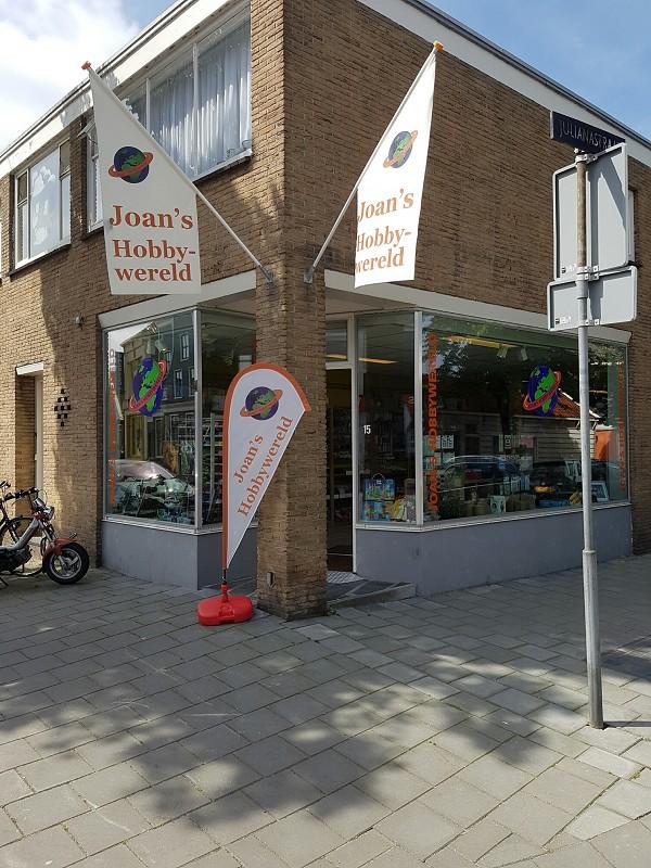 De winkel aan de Raadhuisstraat